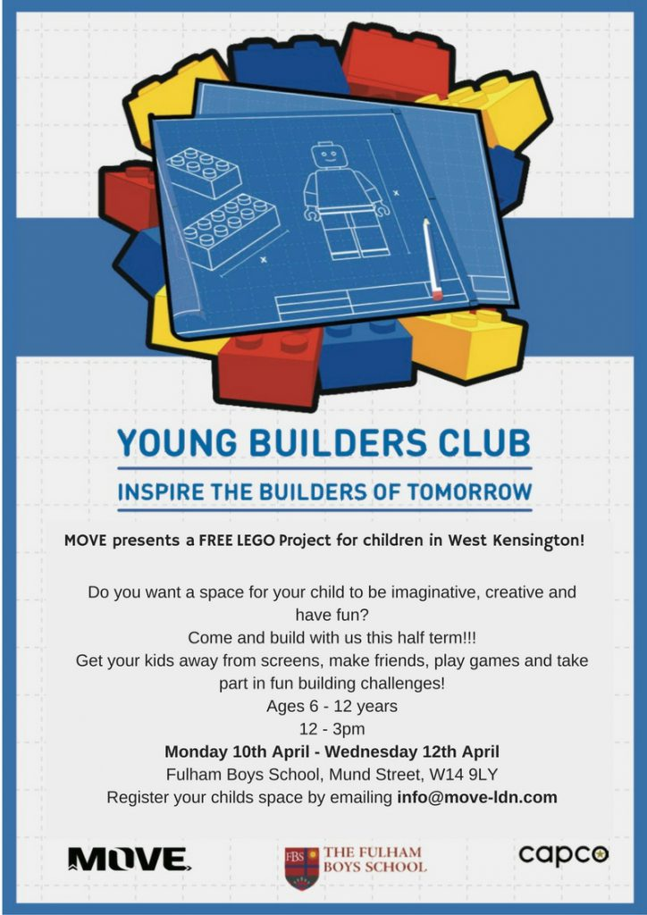 MOVE presents a FREE LEGO Project for children in West Kensington.-2